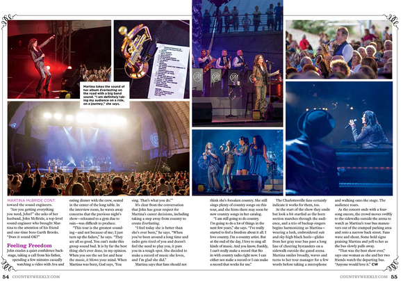 NASH Country Weekly Magazine - Martina McBride
