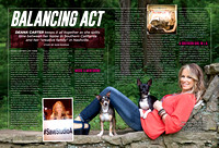 NASH Country Weekly Magazine - Deana Carter & her dogs