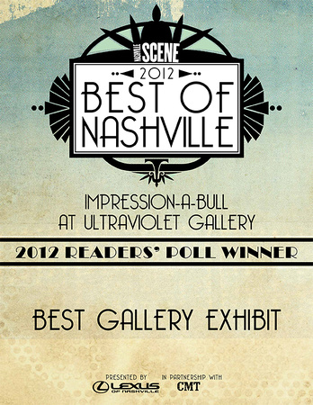 Nashville's Best Gallery Exhibit 2012 UltraViolet Gallery Amiee Stubbs Photography